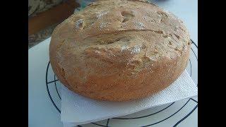 Смешаный хлеб на закваске. Маринкины творинки