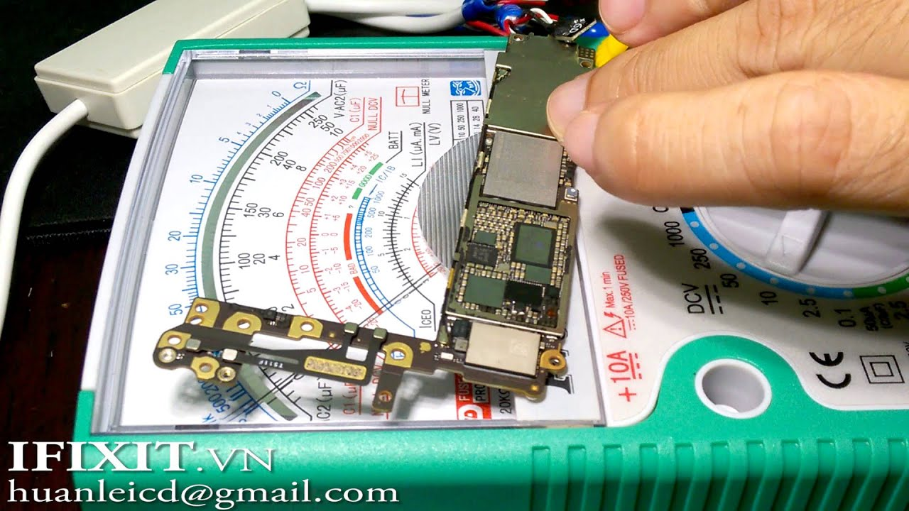 Iphone 6 Dead Power Check Voltage Youtube 4 Jack Wiring Diagram