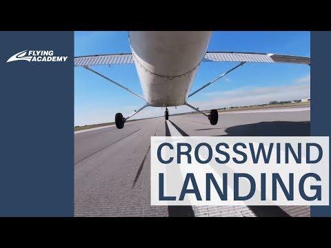 HOW TO : CROSSWIND LANDING C152