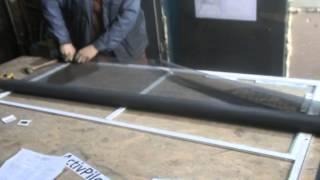 видео Бизнес на производстве москитных сеток