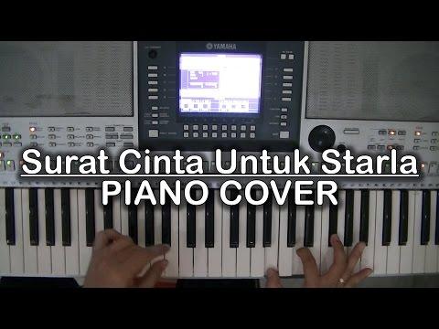 Surat Cinta Untuk Starla Virgoun Piano Cover Youtube