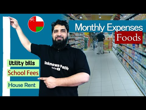 Cost of living in Oman | Life of Oman | Utility Bills & Food