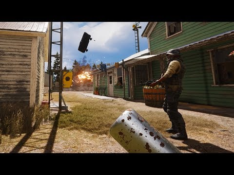 Far Cry 5 - stealth Outpost Liberations 4k/60Fps