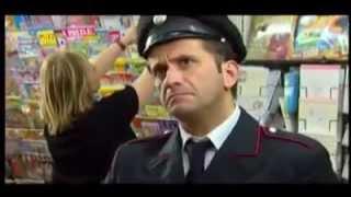 Carabinieri e bandiera Italia - ridere barzelletta