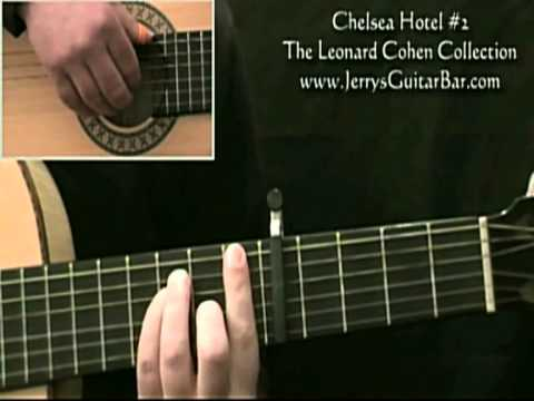 How To Play Leonard Cohen Chelsea Hotel #2 (1st section)