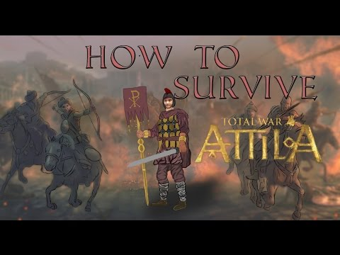 Total War: Attila - How To Survive As The Western Roman Empire !
