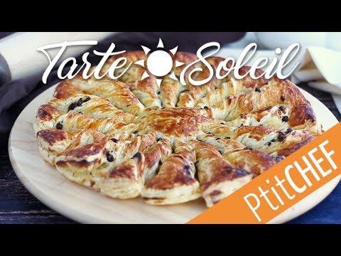recette-de-tarte-soleil-feuilletée-à-la-vanille-et-au-chocolat---ptitchef.com