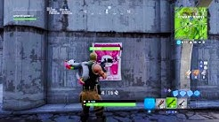 how to get showtime challenges and showtime poster location 2 fortnite duration 0 13 - poster locations fortnite