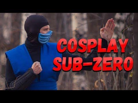 Костюм саб зиро своими руками. Mortal Kombat cosplay sub-zero. Как сделать маску thumbnail