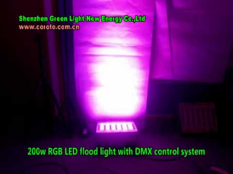 High Power RGB LED WITH DMX512 CONTROL SYSTEM from Shenzhen Green Light New Energy Co., Ltd