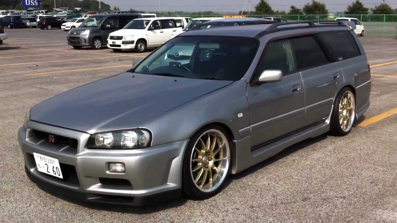 Masa M34 Gt Stagea Rb26 Equipped Rear Wheel Drive