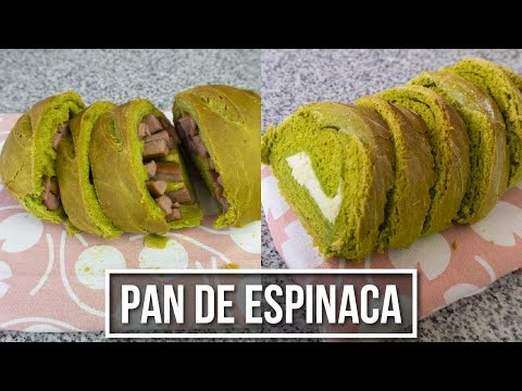 Pan de Espinaca - Un pan caliente por la mañana 😌 | Estilo Marilin