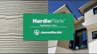 HardiePlank® cladding Installation video