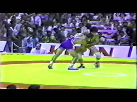 1990 Senior World Championships: 68 kg Bronze Kosei Akaishi (JPN) vs. Jesus Rodriguez Garzon (CUB)