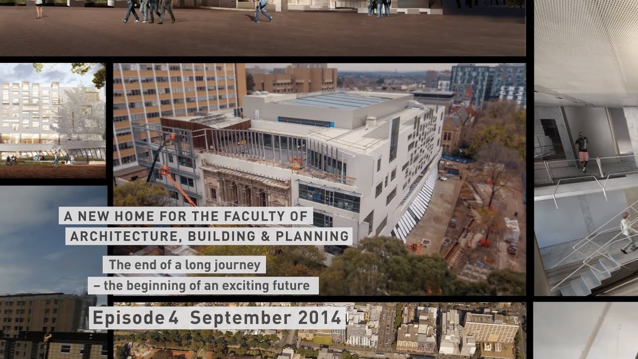 A New Home For The Faculty Of Architecture Building And Planning Episode 4 Youtube