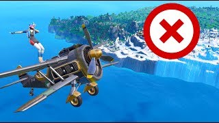 Can You WIN WITHOUT LANDING? in Fortnite Battle Royale Season 7
