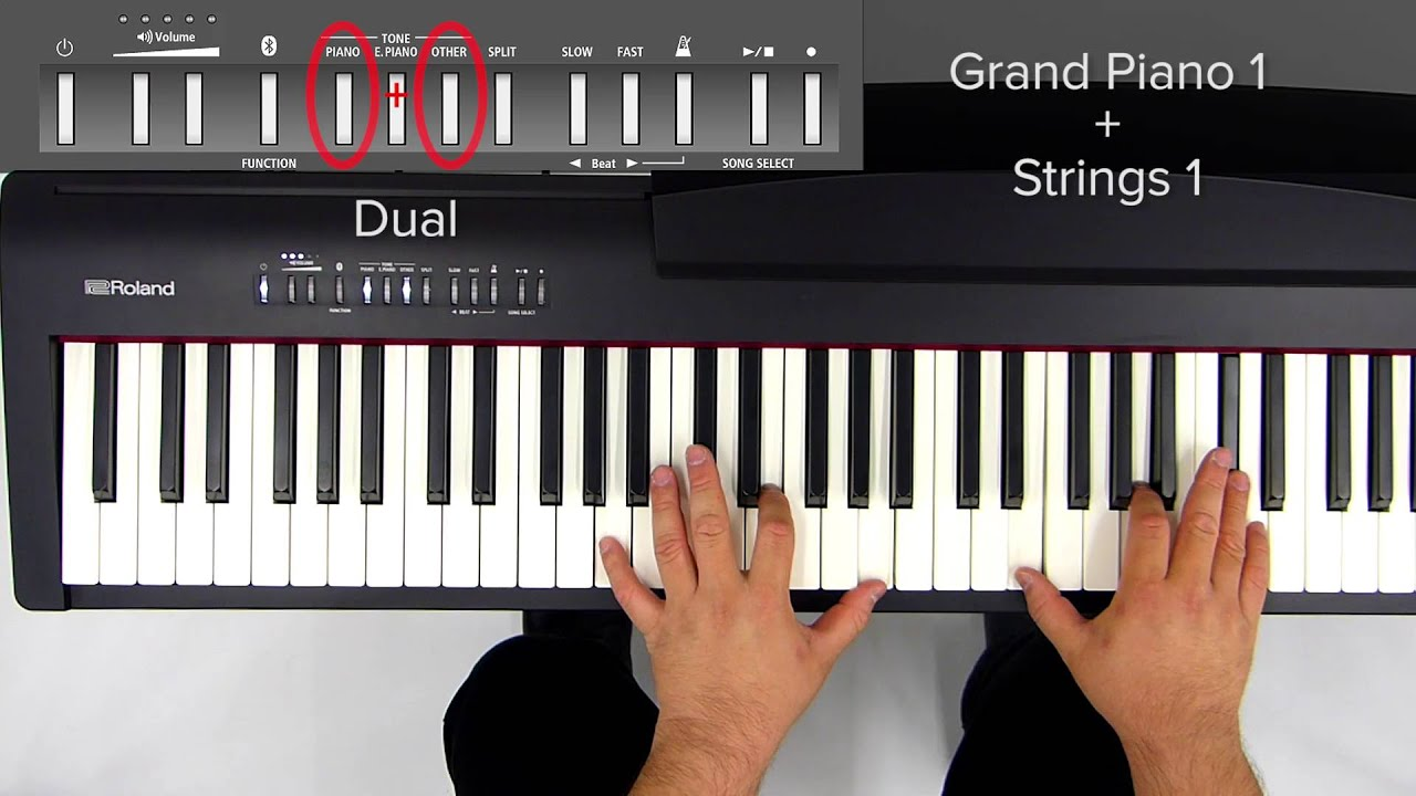 Image result for the dual function on piano