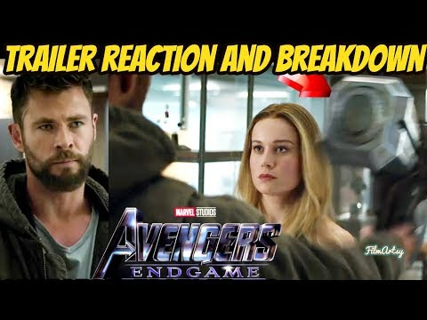 Avengers: Endgame Official Trailer #2 Reaction and Breakdown   Must Watch