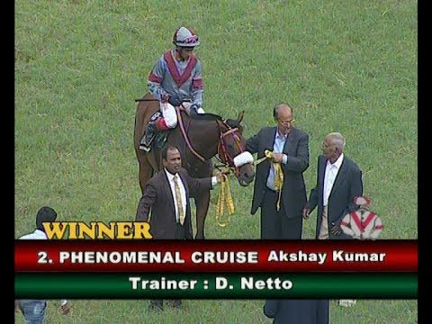 Phenomenal Cruise With Akshay Kumar Up Wins The Major General N K J Bahadur Memorial Cup 2018