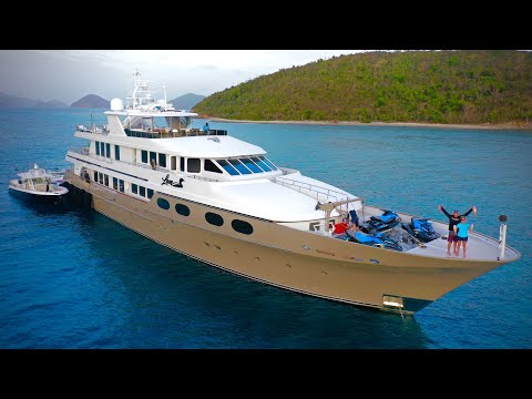 Deep Sea Fishing From $40,000,000 MEGA Yacht! {Catch Clean Cook} M/V Loon