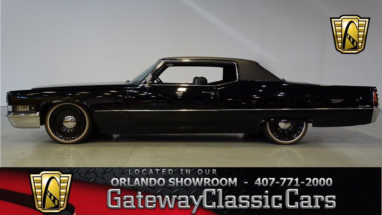 1970 Cadillac Coupe Deville Gateway Orlando 721 Youtube