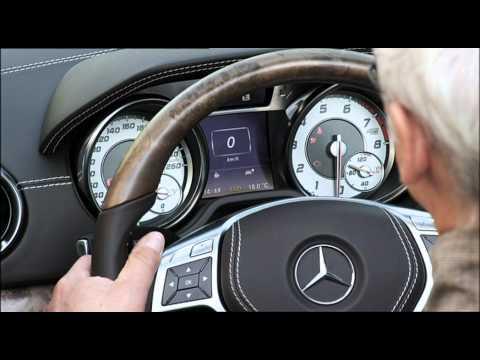 Mercedes-Benz; SL-Class - Driving Scenes