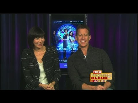 Catherine Bell & James DentonGood Witch 03022015