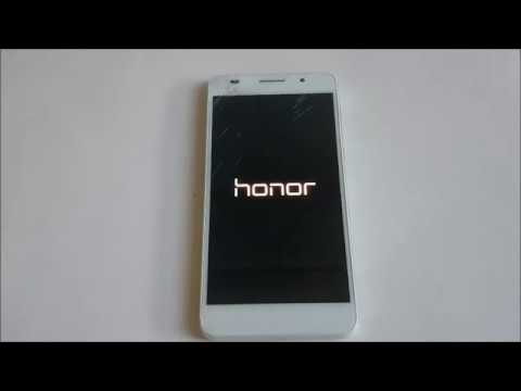 Huawei Honor 6 factory reset