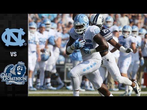 North Carolina vs. Old Dominion Football Highlights (2017)