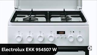 Газовая плита Electrolux EKK954507W