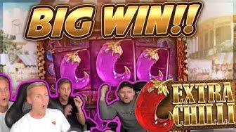 HUGE WIN!!! Extra Chilli BIG WIN!! Online Slot from CasinoDaddy Live Stream