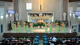 GX.Tân Dân 2015 - Cung tiến hương nến