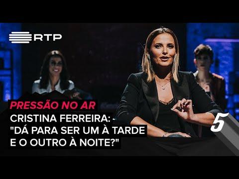 Pressão no Ar - Cristina Ferreira: