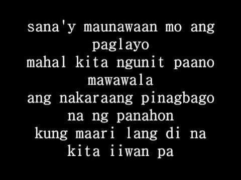 ALWAYS BE MY BABY tagalog version LYRICS - Lyrics Search