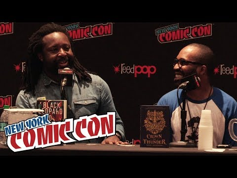 How Writers Build Authenticity Into Diverse Worlds Full Panel | New York Comic Con 2018