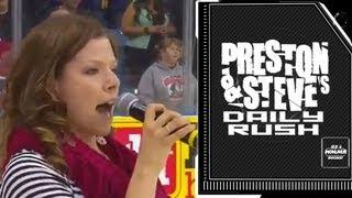 National Anthem Blunder - Preston & Steve's Daily Rush