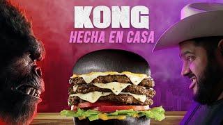 CARL'S JR vs HECHA EN CASA (Kong Burger) | El Guzii