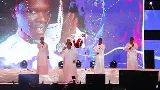 Gospel Singer Mega 99 Delivers Powerful Performance at Celebrate the Comforter 2019