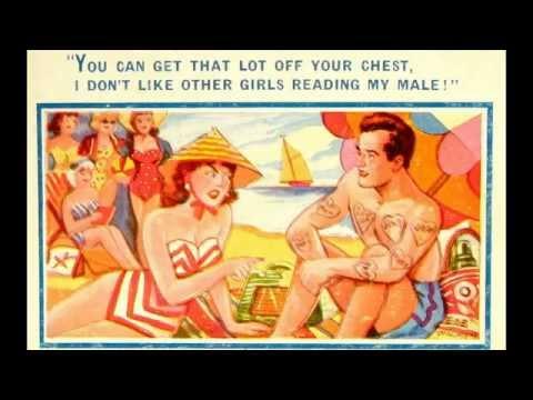 Funny English Seaside Postcards ~ Saucy Humour