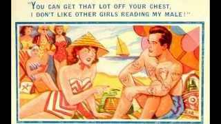 Funny English Seaside Postcards ~ Saucy humour