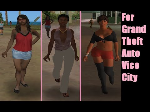 New Peds Women Pack 1 | GTA Vice City | On Speed Gaming