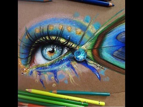 amazing realistic eye drawings youtube