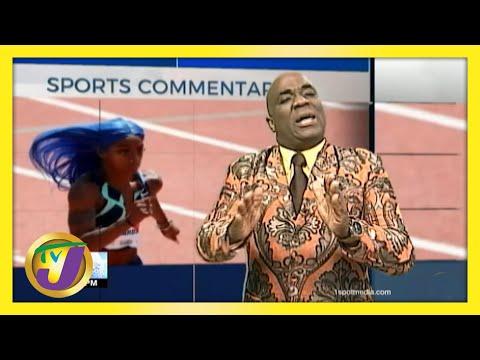 US Sprinter Richardson | TVJ Sports Commentary