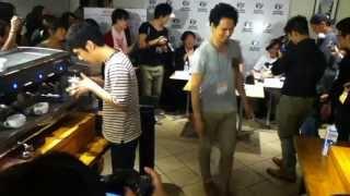 Junichi Yamaguchi 対 小山バリスタ