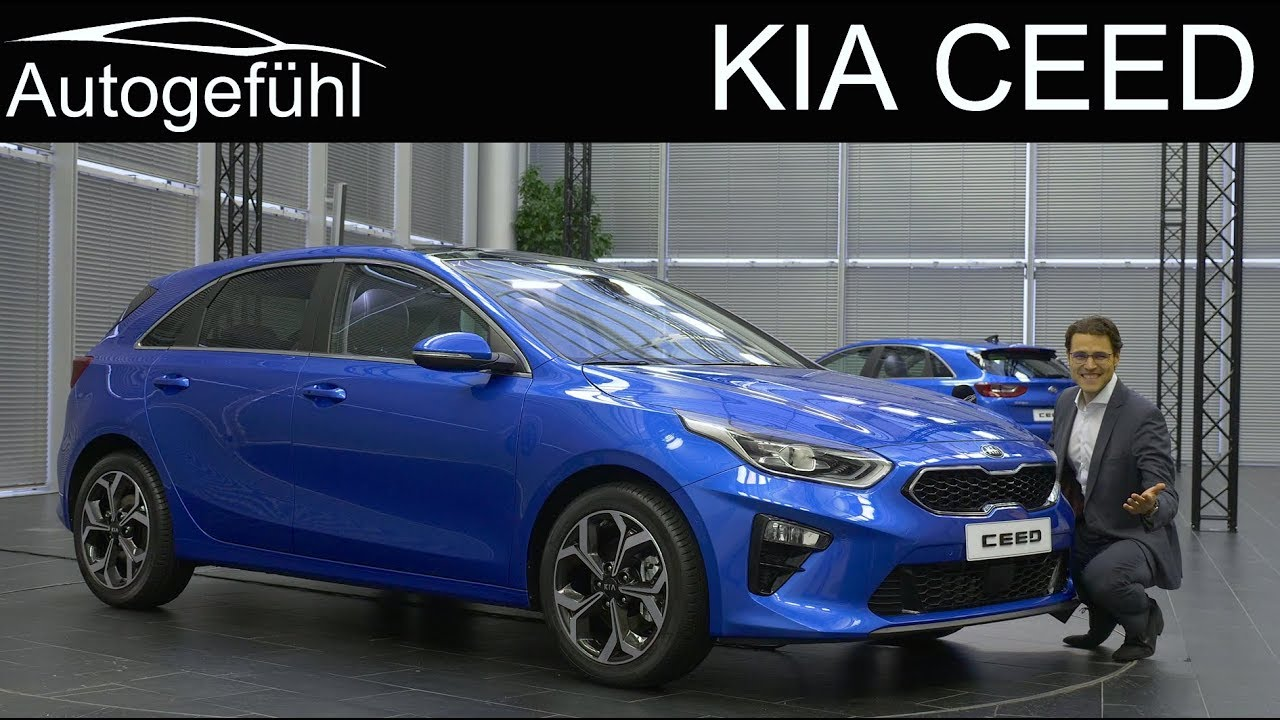 all new kia ceed review reveal 2018 2019 autogef hl youtube. Black Bedroom Furniture Sets. Home Design Ideas