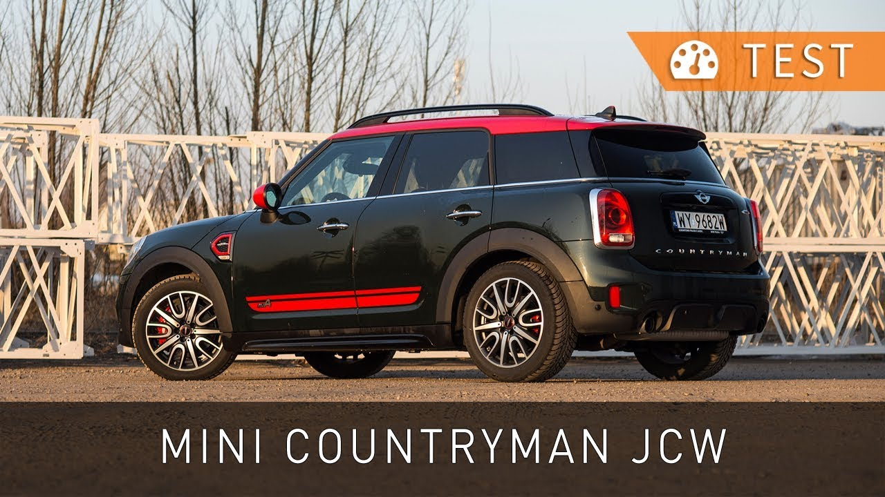 Mini John Cooper Works Countryman All4 2018 Test Pl Project
