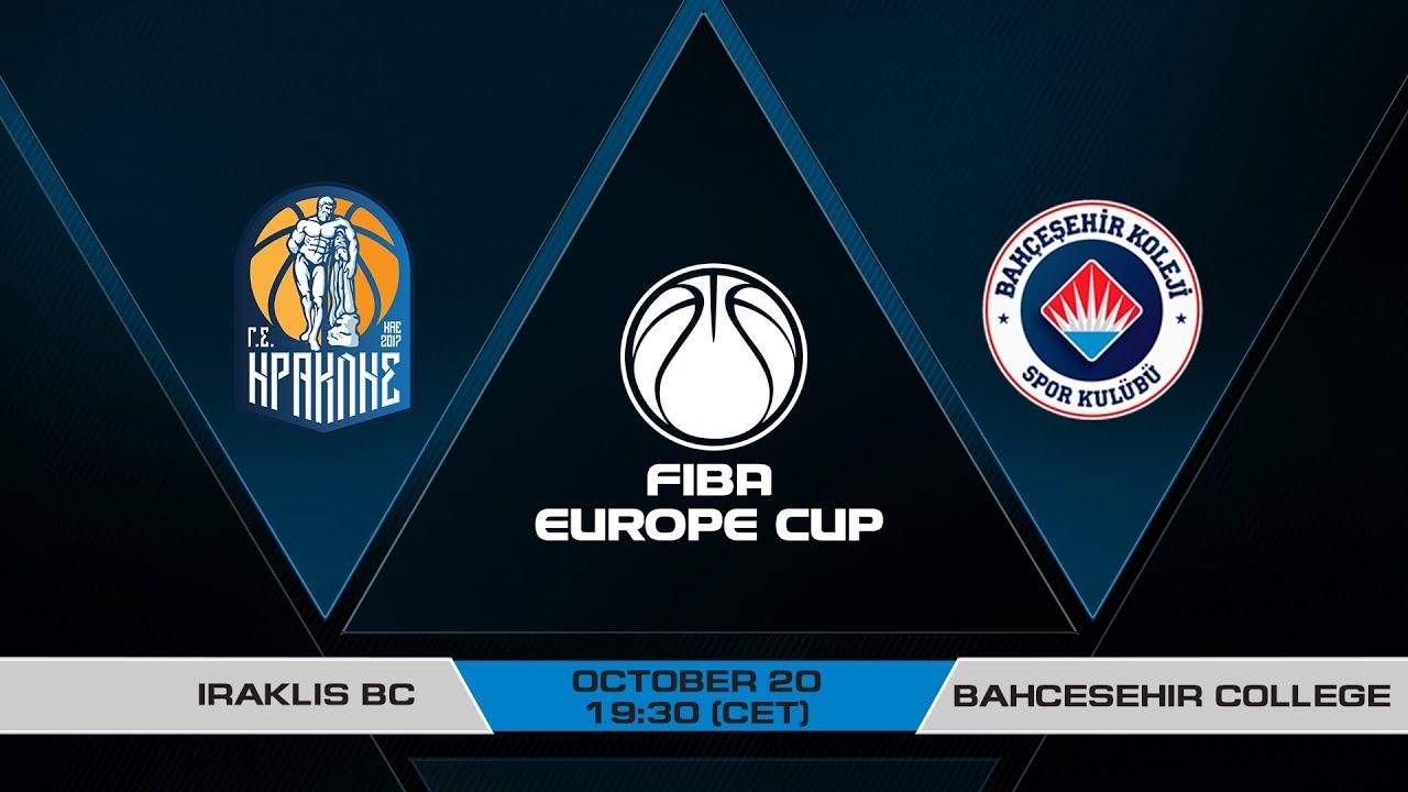 LIVE - Iraklis BC v Bahcesehir College  | FIBA Europe Cup 2021-22