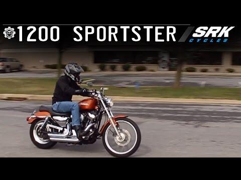 Harley Davidson Sportster 1200 Test Drive