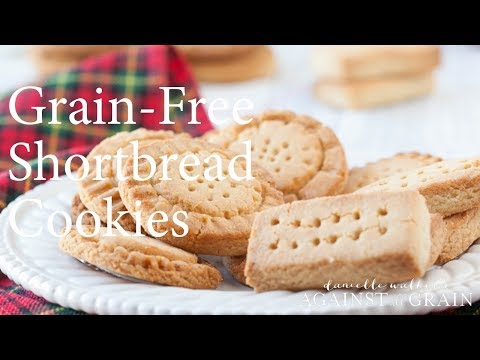 Grain-Free Shortbread Cookies Recipe | Danielle Walker