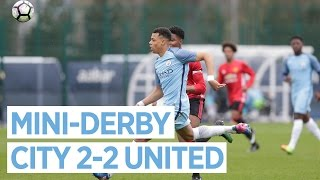 OUTRAGEOUS SKILL! | CITY U18 2-2 UNITED U18
